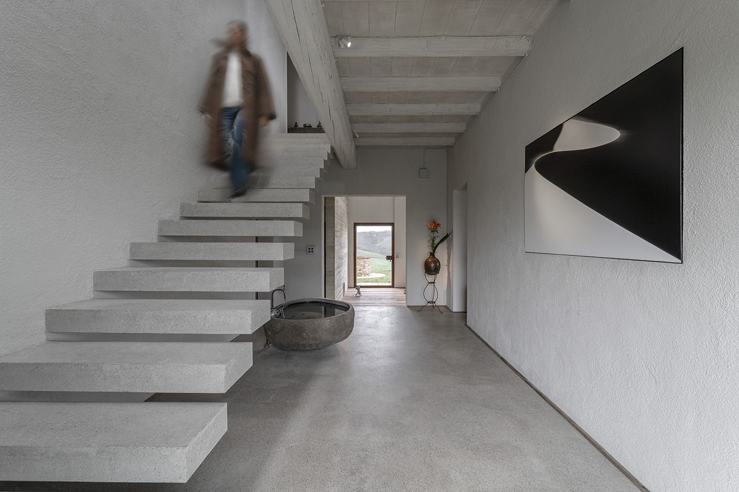entrance stairs SUPERFUTUREDESIGN*