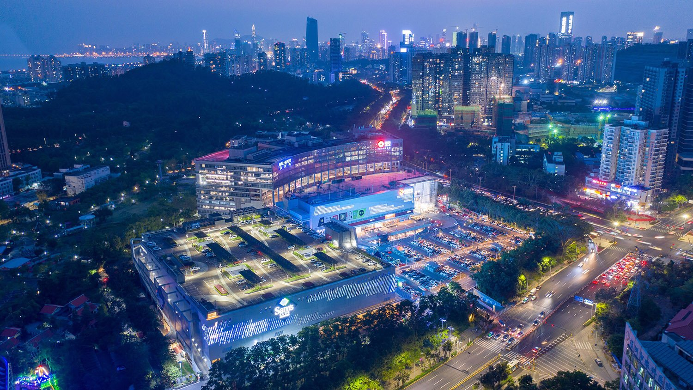SCPG Center (Shopping Plaza) - Night view PH Alpha Design