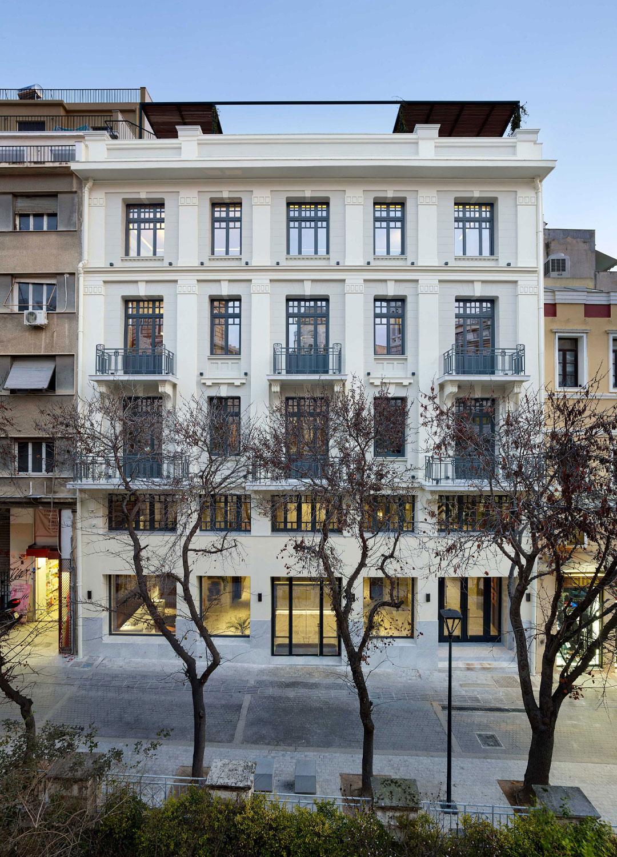 main facade Yiorgis Yerolymbos