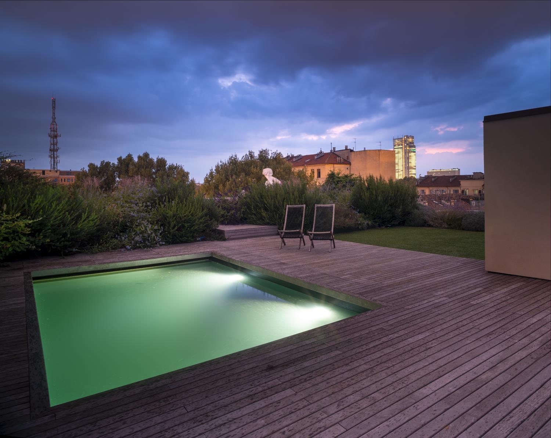 La piscina sul tetto Fabio Oggero