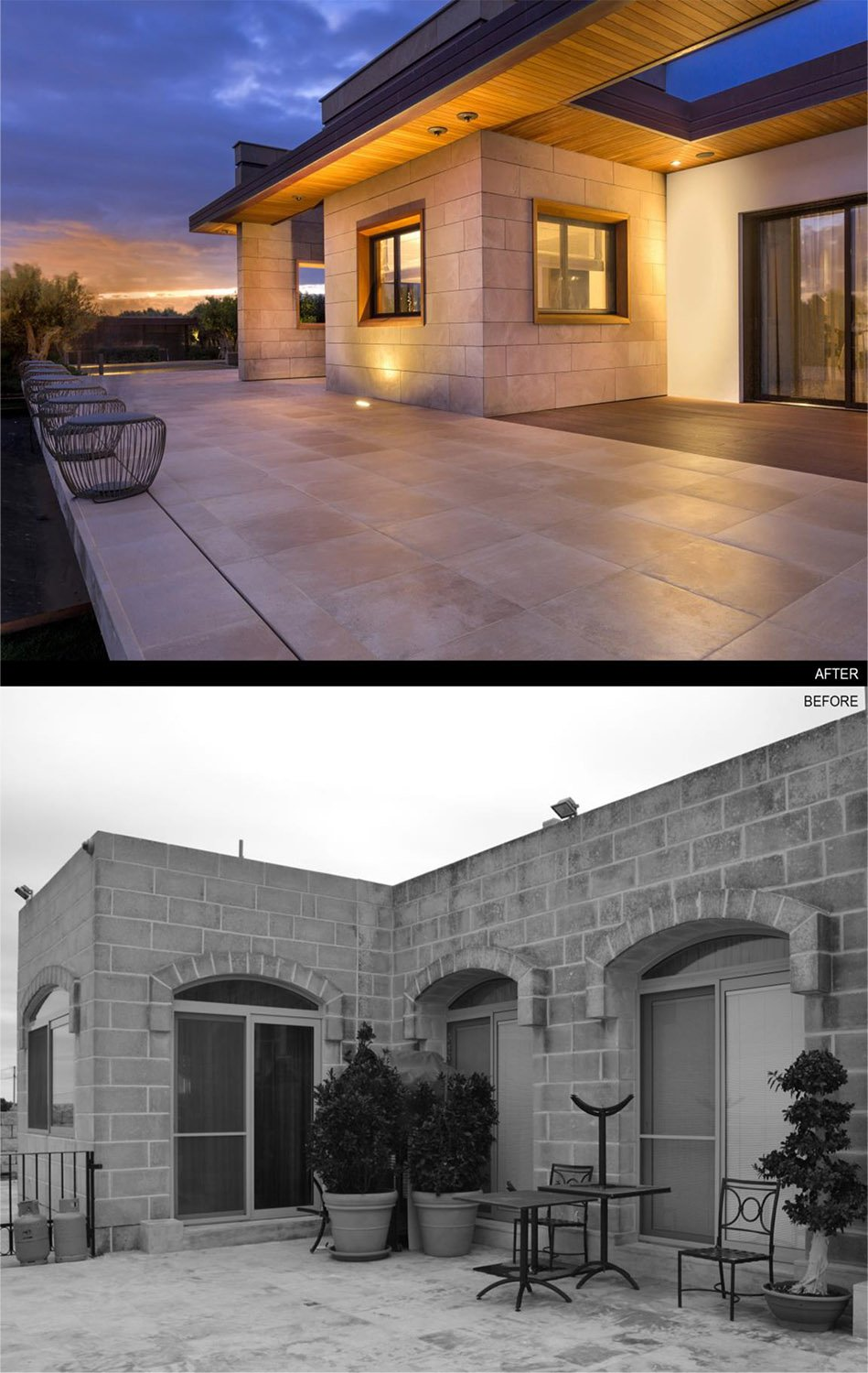 view 2 - before and after PERALTA - design & consulting}