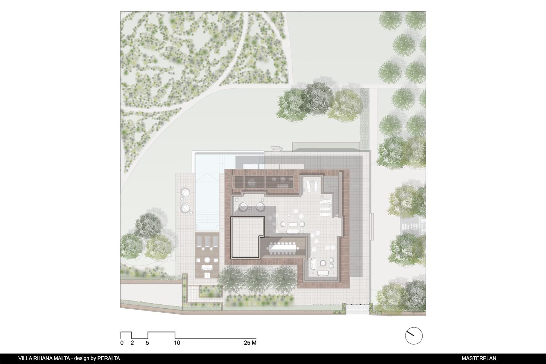 Site plan PERALTA - design & consulting}