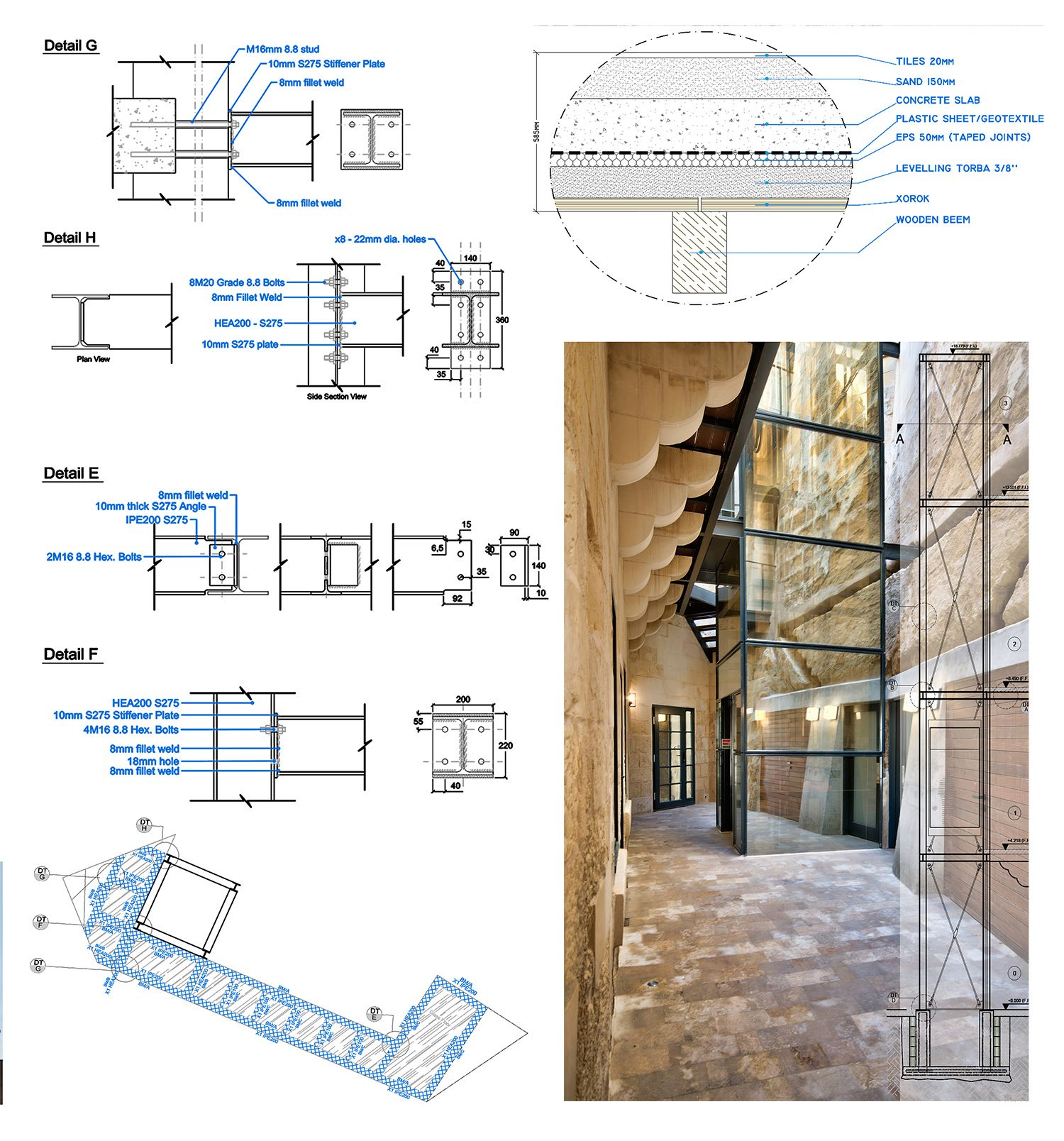 structural details Edwin Mintoff Architects & Alan Carville}