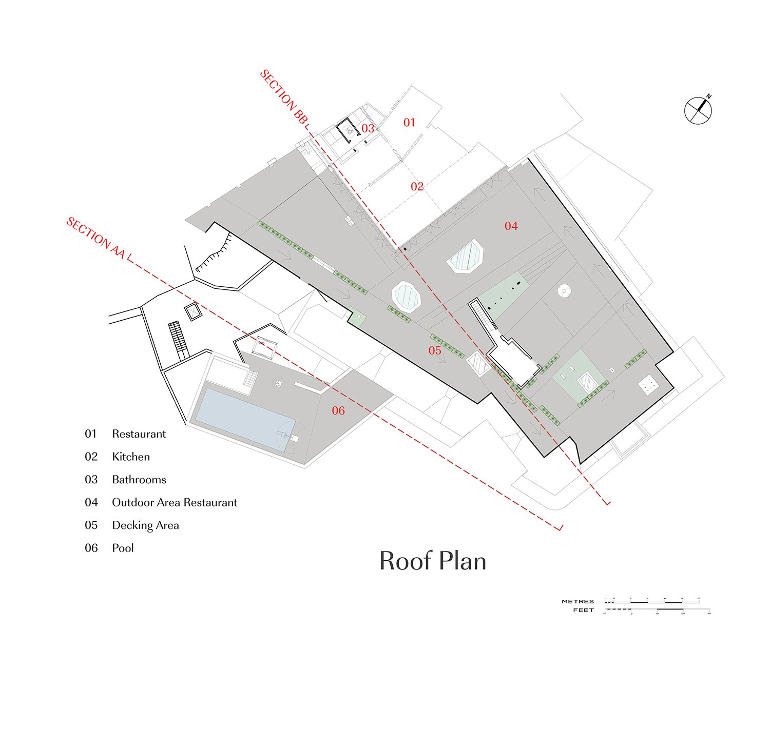 Roof Plan Edwin Mintoff Architects}