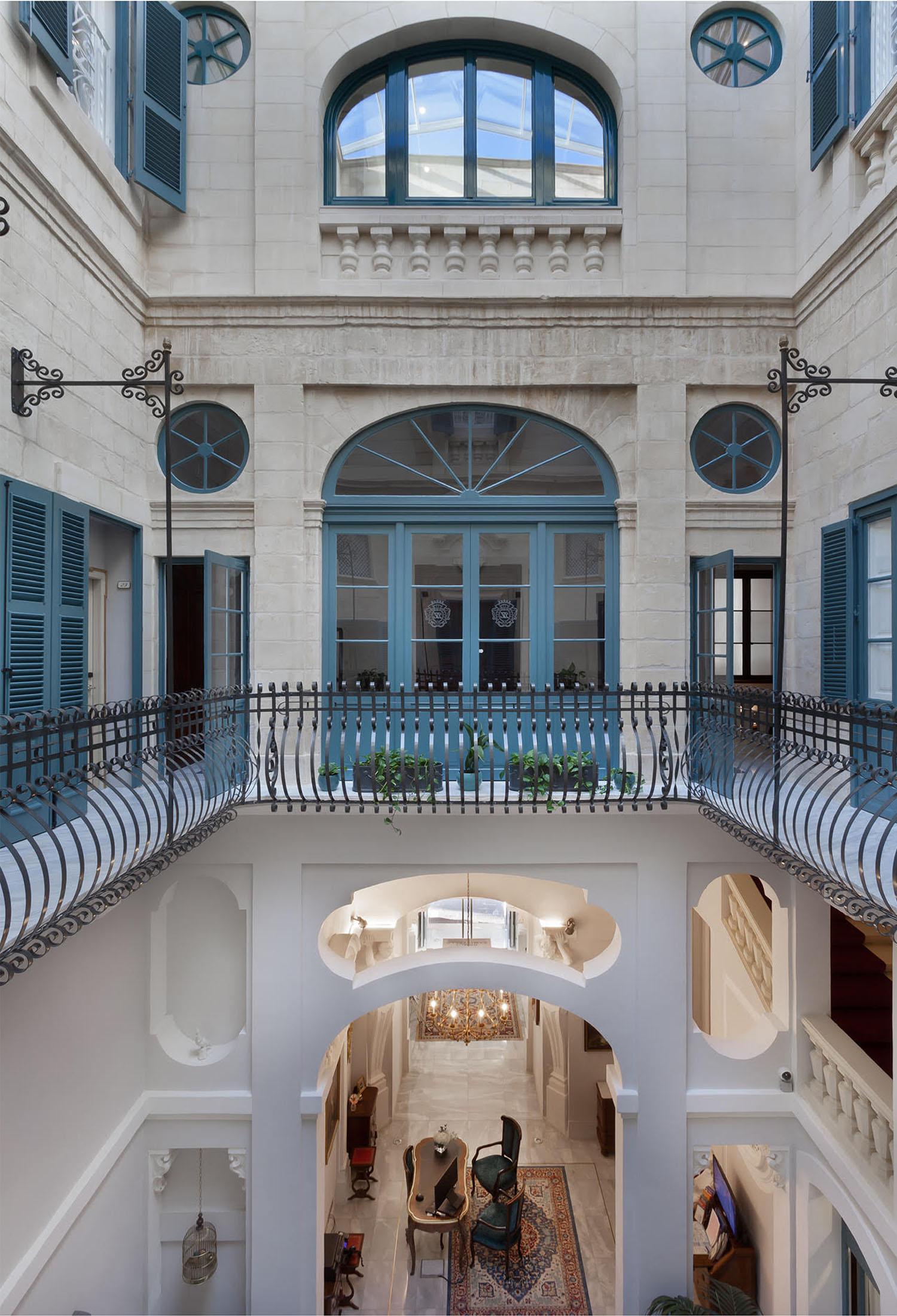 Domus Zamittello Interior post restoration Domus Zamittello Hotel