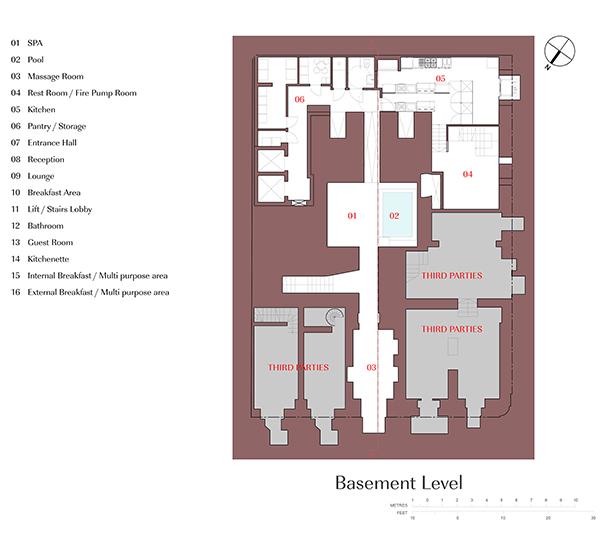 Basement Plan Edwin Mintoff Architects}