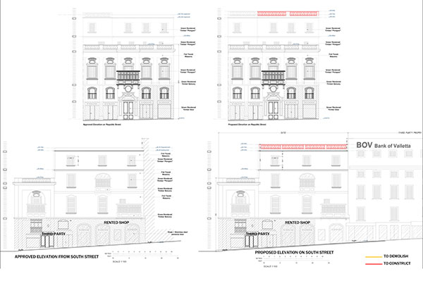 Proposed Elevations Edwin Mintoff Architects}