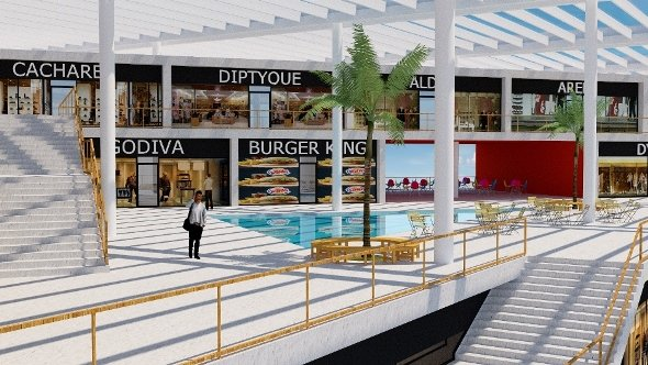 Hills Shopping Mall Wall Corporation/Selim Senin