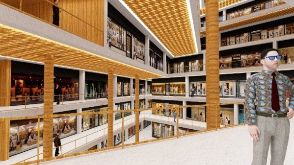 Hills Shopping Mall Wall Corporation/Selim Senin}