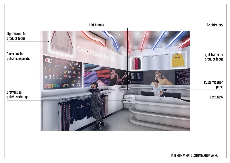 Details - Customization area Arch. Tommaso Zanini / d+d Group}