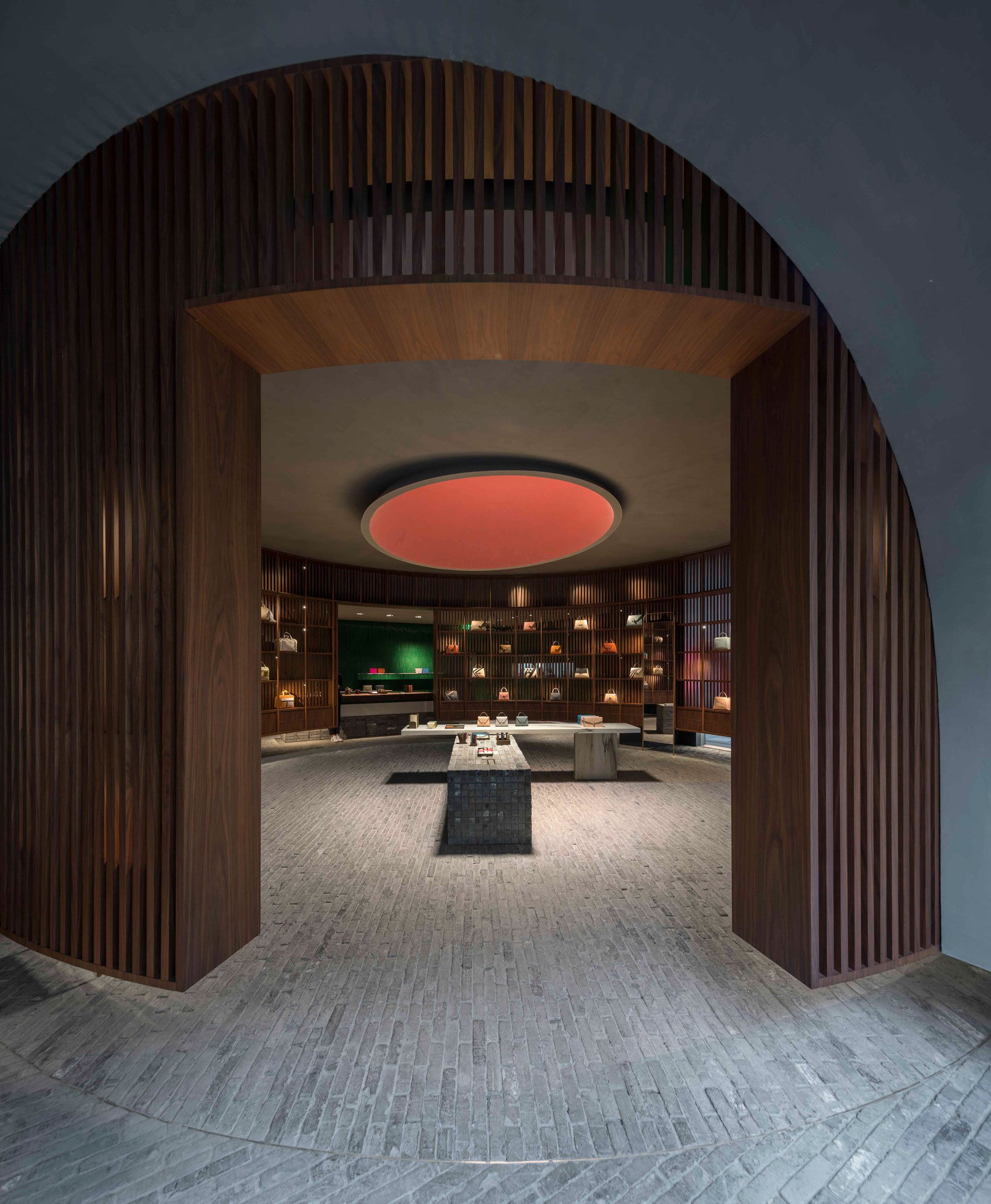 Valextra Chengdu Designed by Neri&Hu Pedro Pegenaute