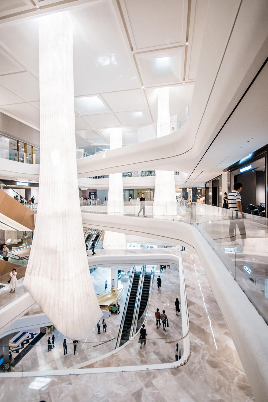 Interior design, connecting bridge & organic shape Giacomo Carena}