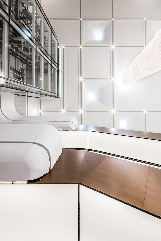 Interior design, ceiling & lift Giacomo Carena}