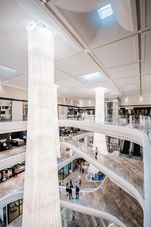 interior design, connecting bridge & organic shape Giacomo Carena