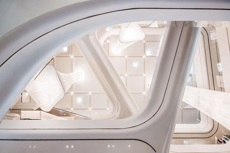 interior design, ceiling Giacomo Carena