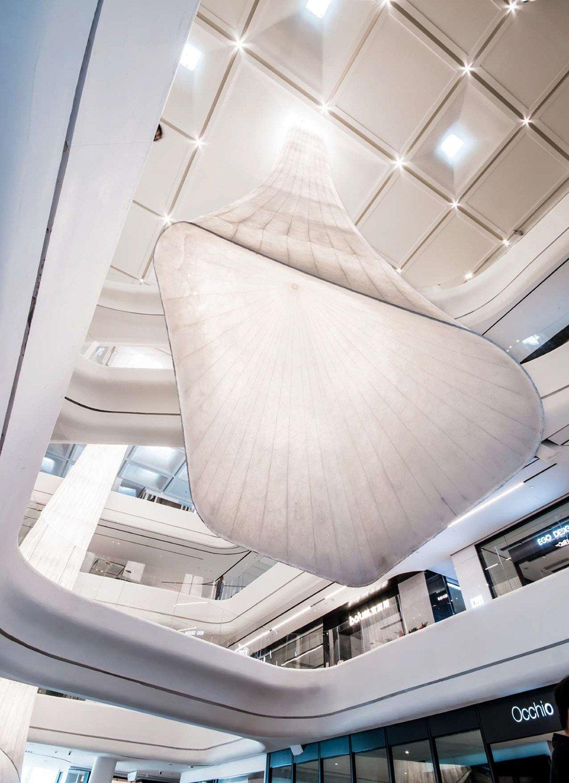 interior design, lighting and organic shape Giacomo Carena