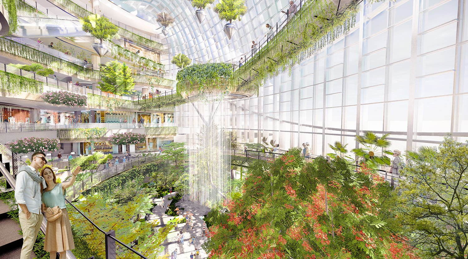 Indoor Botanical Garden PH Alpha Design