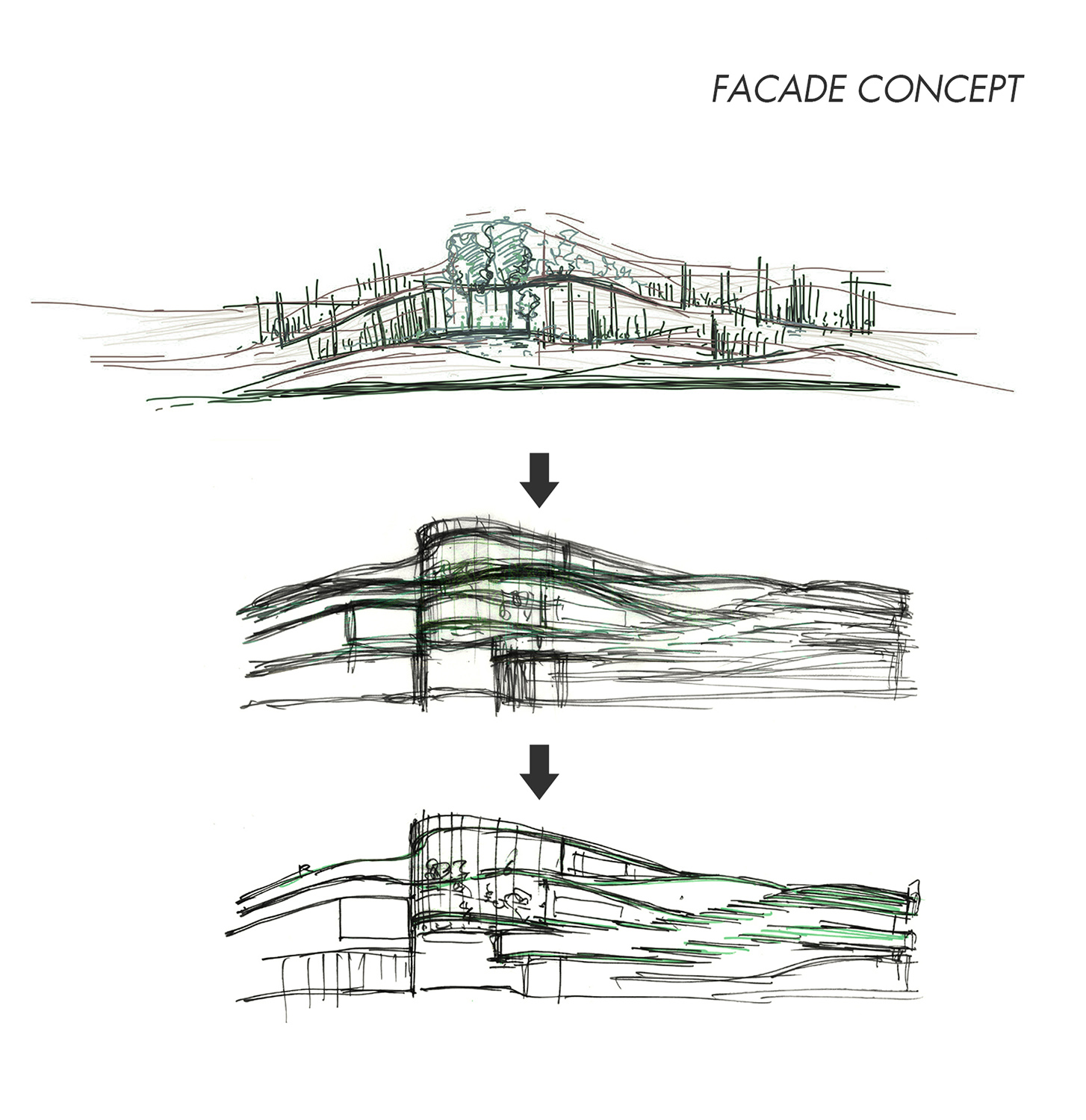 Facade Concept PH Alpha Design}