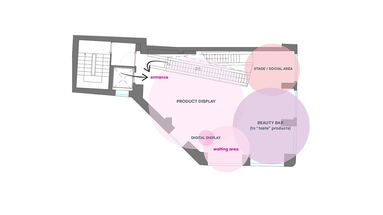 piano primo: zoning FUD | Lombardini22}