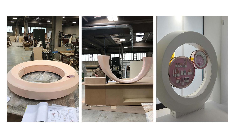 costruzione ring FUD | Lombardini22}