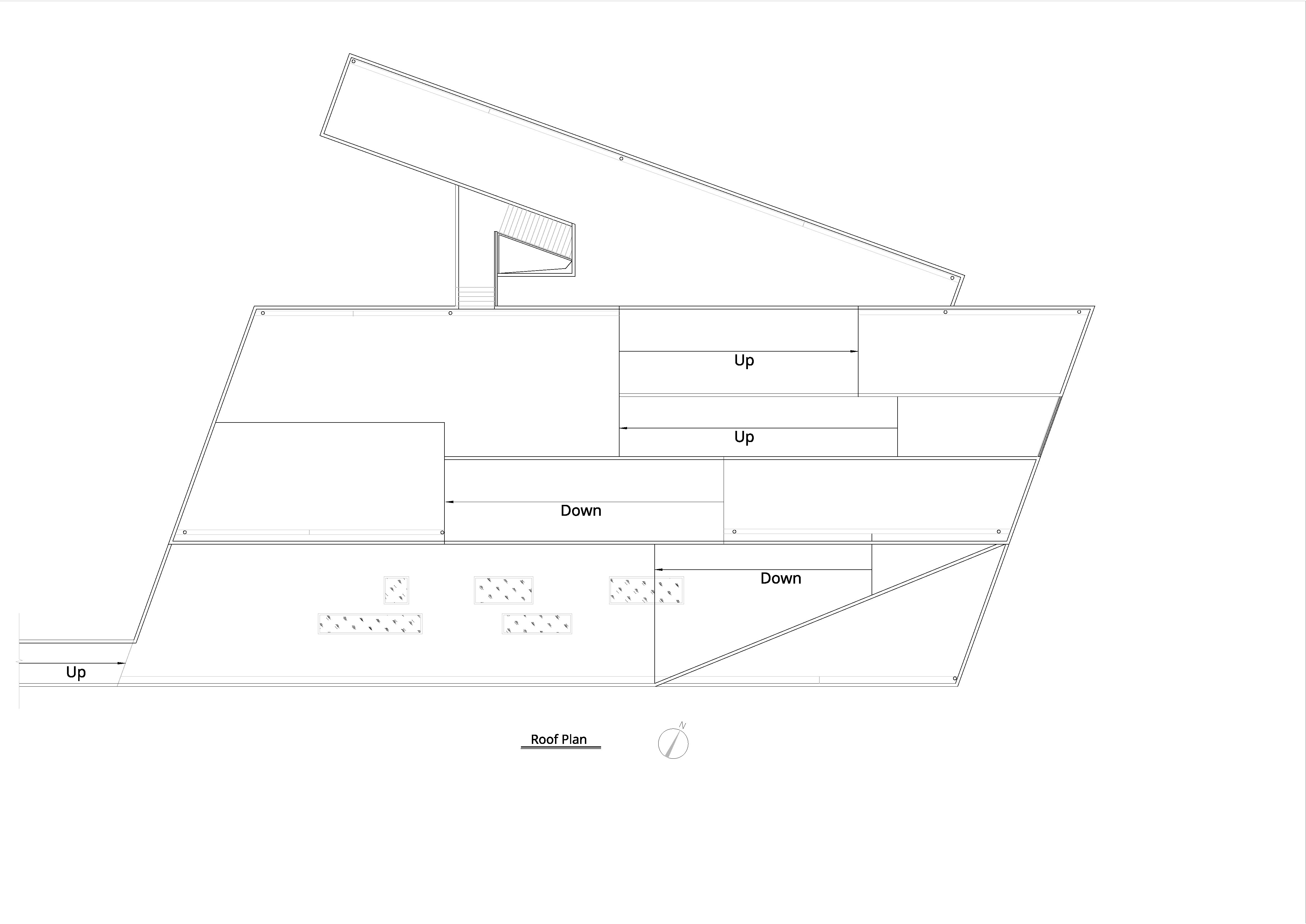 Roof plan Atelier Alter Architects}