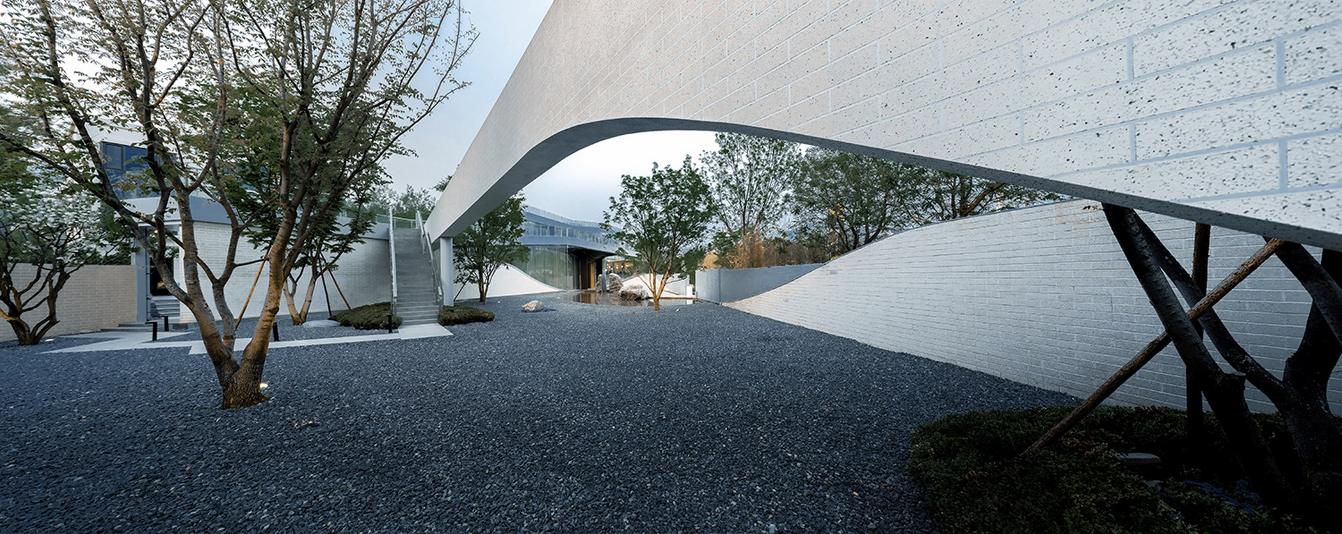 Courtyard view Atelier Alter Architects