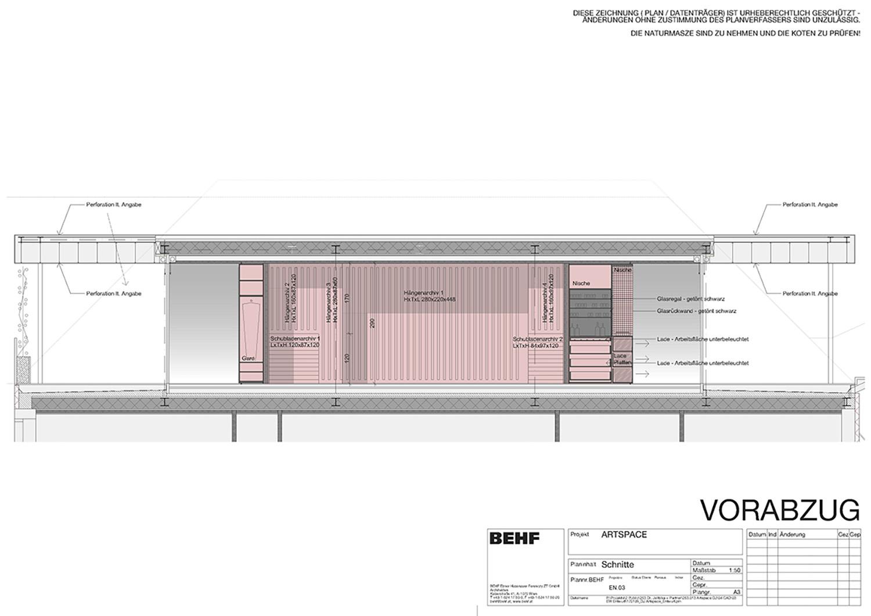 ARTSPACE design concept bar & art shelter BEHF Architects}