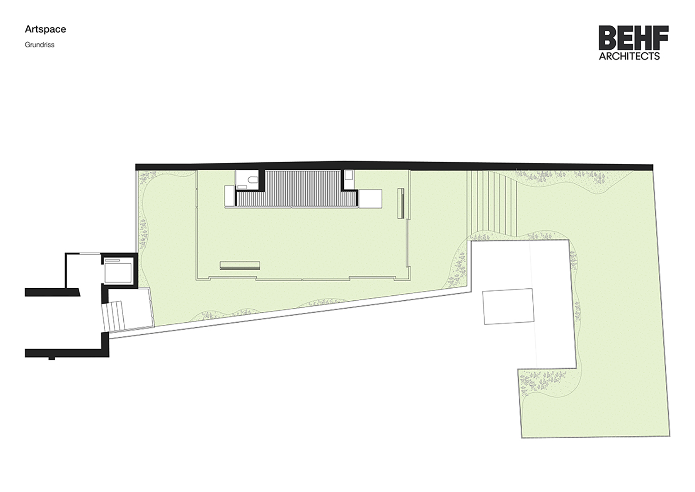 ARTSPACE Floor plan BEHF Architects}