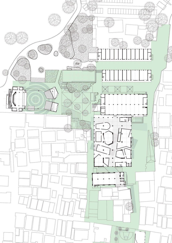 A Factory Zone Masterplan ©URBANUS}