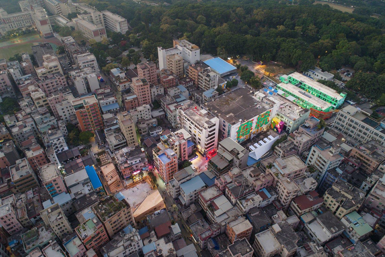 Nantou Old Town Birds' Eye View (2017 Shenzhen-Hong Kong Urbanism\Architecture Bi-City Biennale) ©UABB