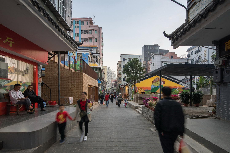 Street View (After Renovation) ©UABB