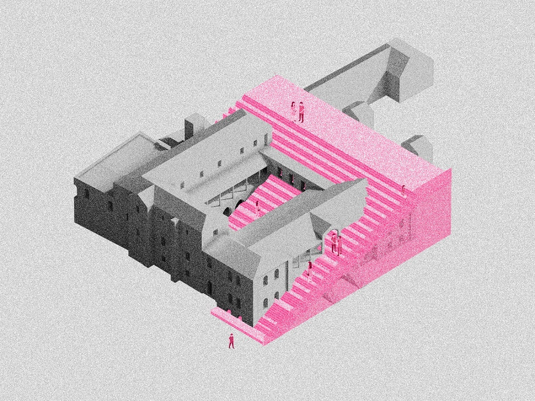 Overall installation Diagram © HQ Architects}