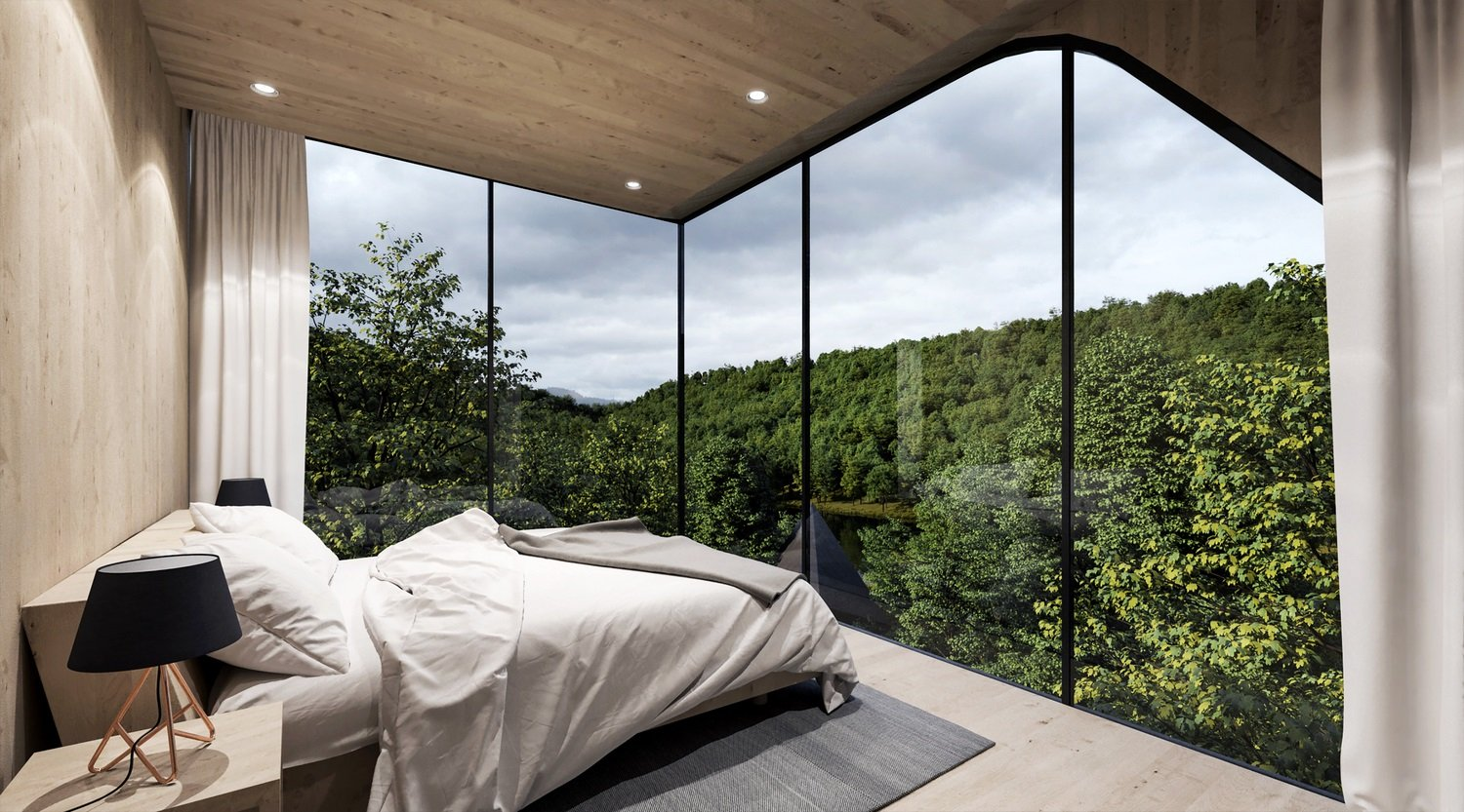 Room view Peter Pichler Architecture}