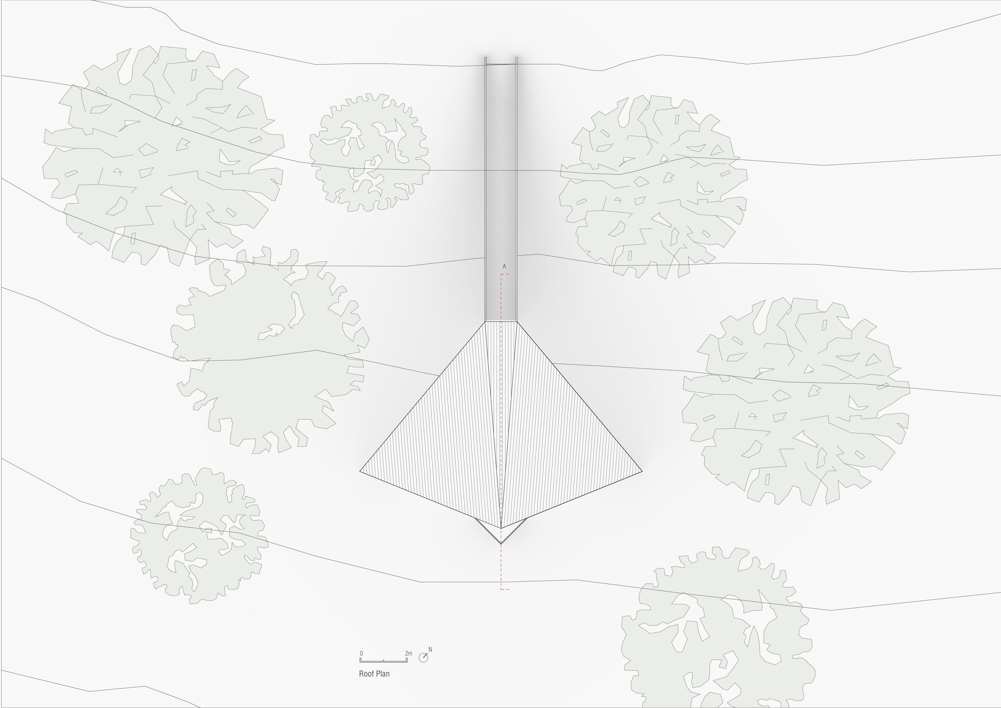 Roof plan Peter Pichler Architecture}