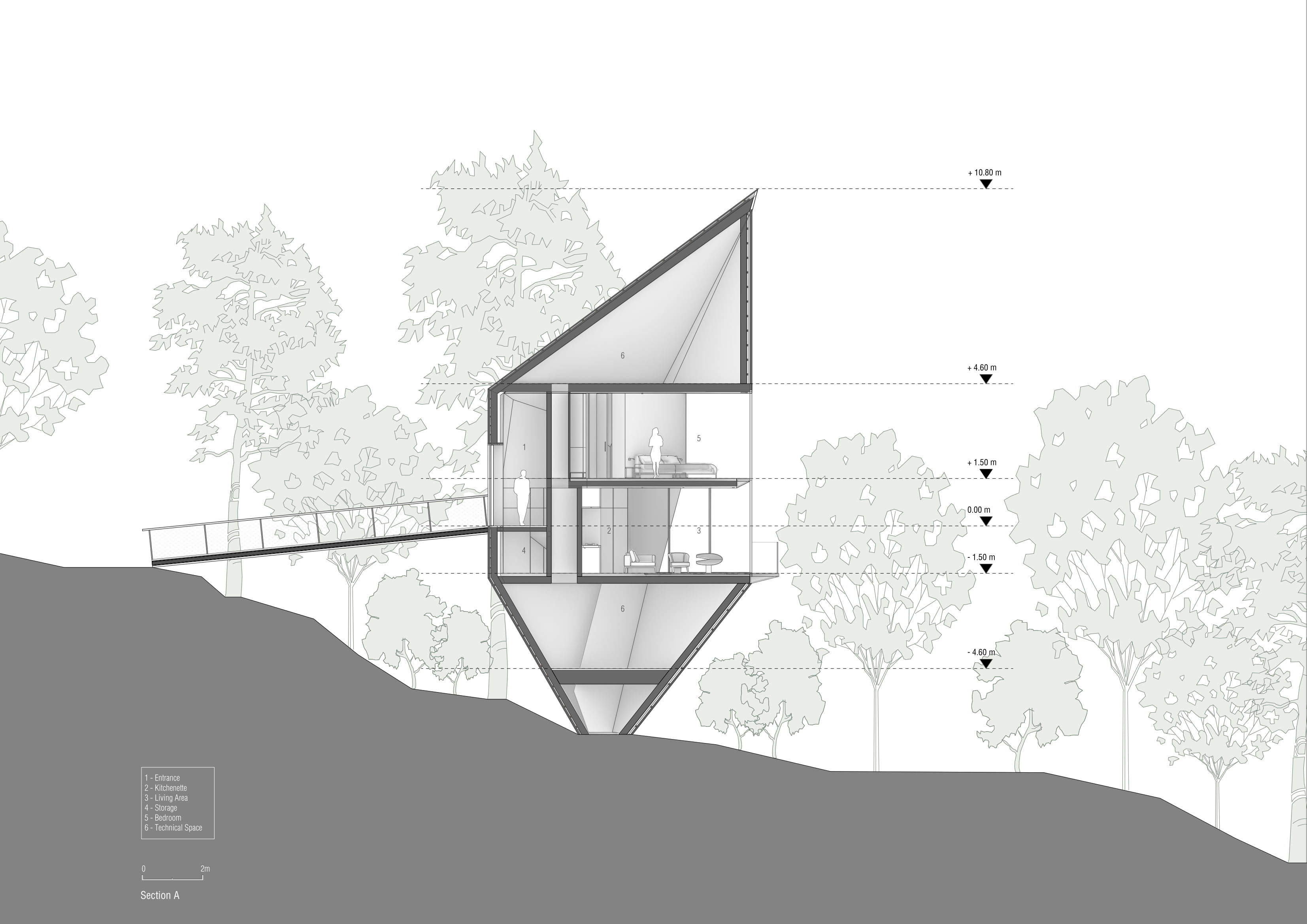 Section A Peter Pichler Architecture