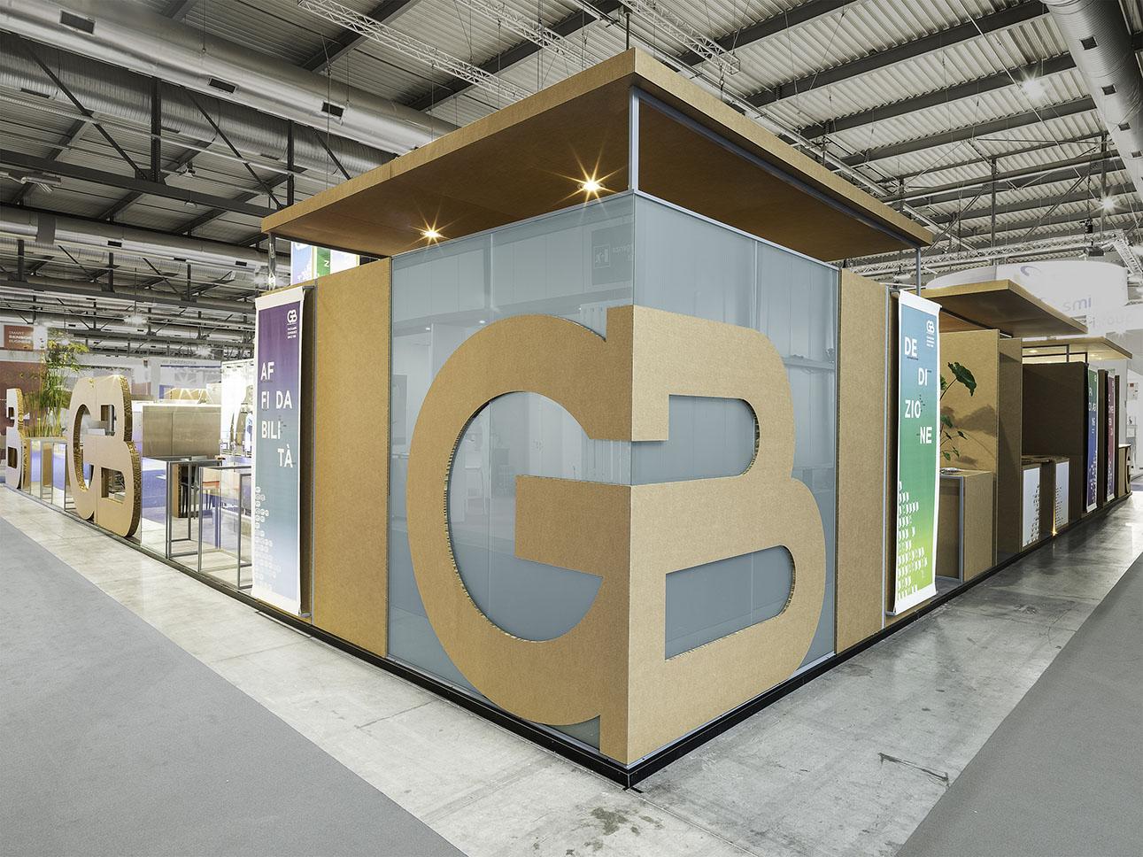 Store Corner_Cardboard and Glass filippo poli