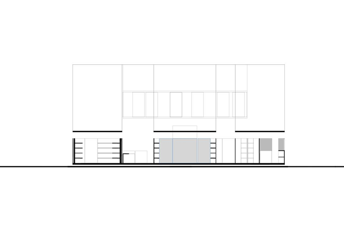 Section - Store Meeting Roon Hall Foyer NAT OFFICE – Christian Gasparini}