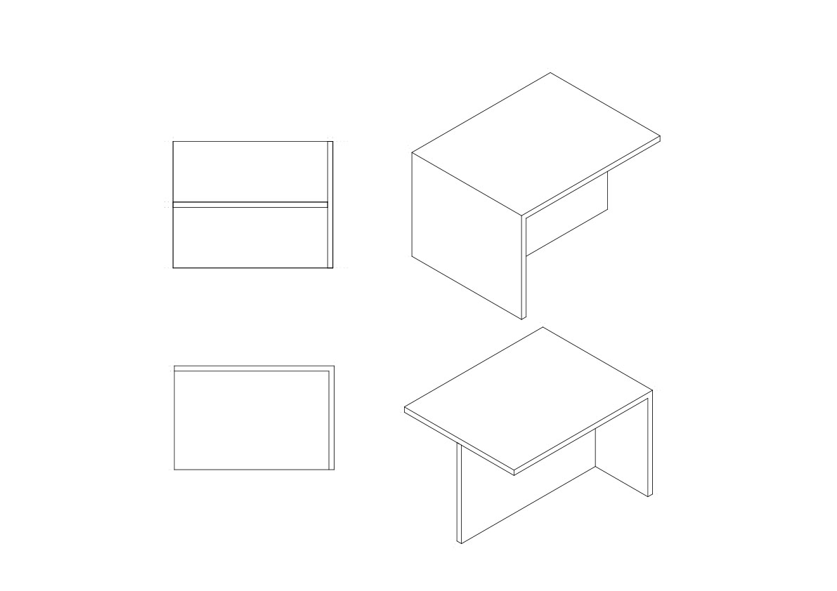 Detail - Meeting Table NAT OFFICE – Christian Gasparini}