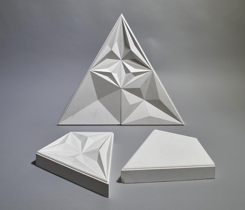 Plaster model B & M Architects / Timo Kiukkola}