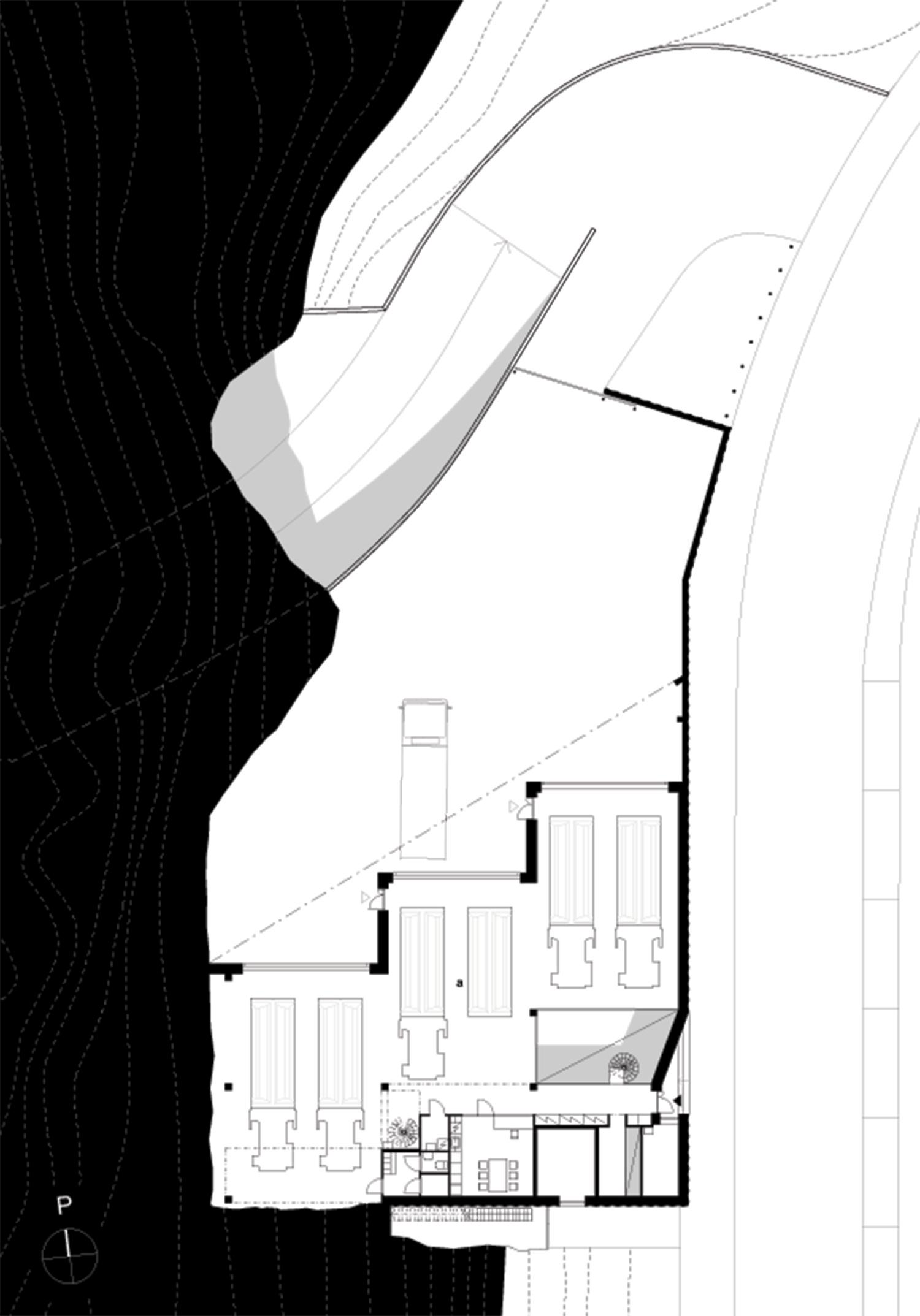1st floor plan B & M Architects}