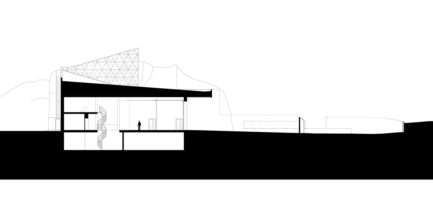 Section drawing B & M Architects}