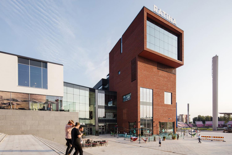 Ratina Commercial Centre & Public Outdoor Spaces Photo: Kuvatoimisto Kuvio Oy