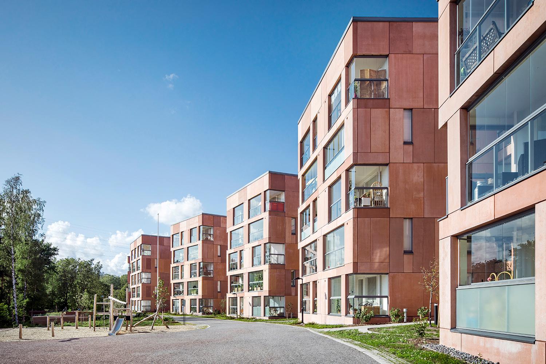 Isonpellontie Social Housing Photo: Kuvatoimisto Kuvio Oy