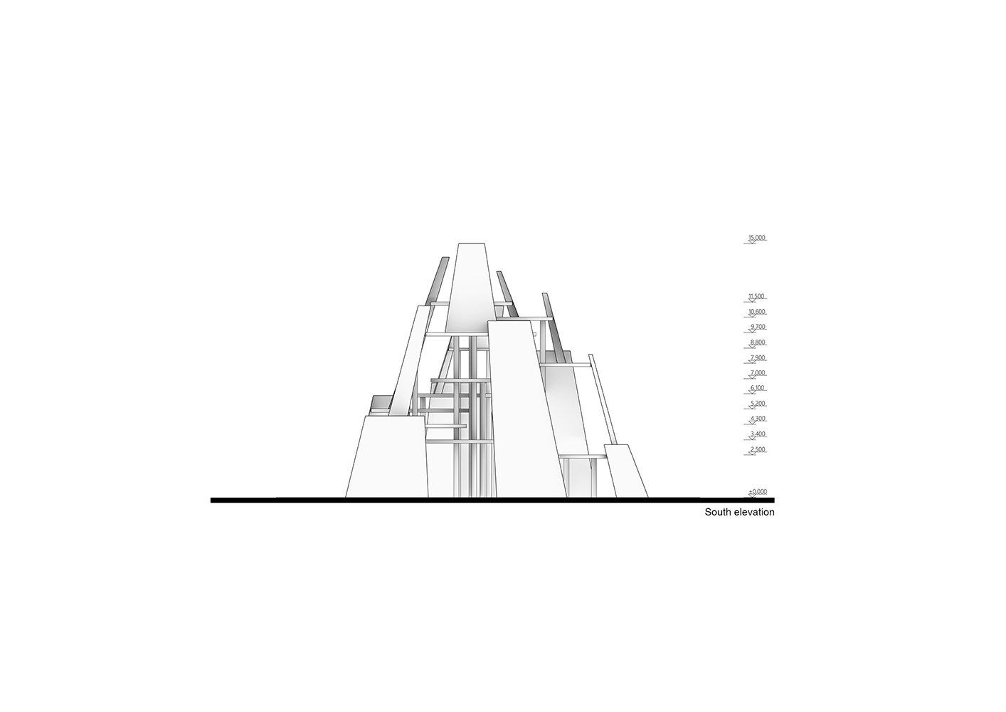 Elevation - South ZXD Architects}