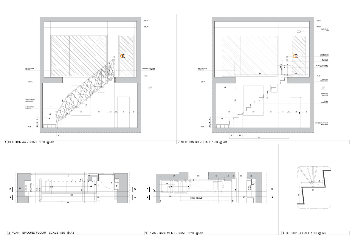 Staircase Sections OmniDe}