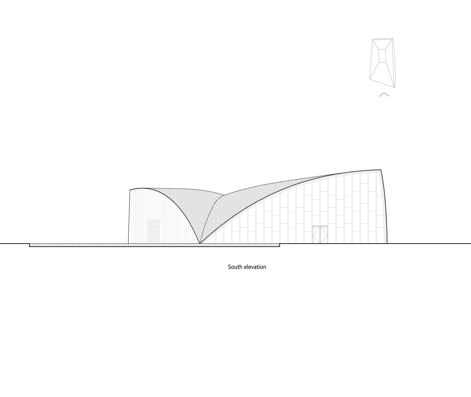 south elevation Lacime Architects}