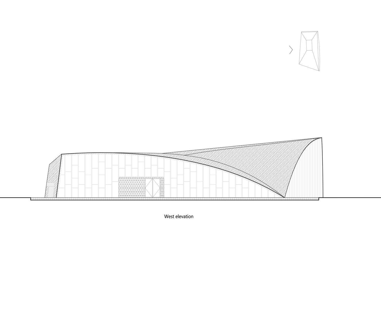 west elevation Lacime Architects}