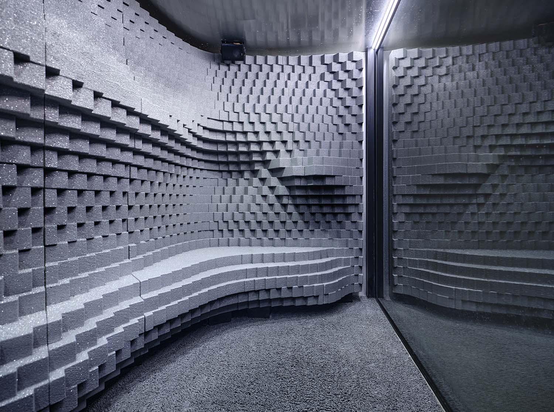 Snow Room - interior materials TechnoAlpin / Christian Vorhofer