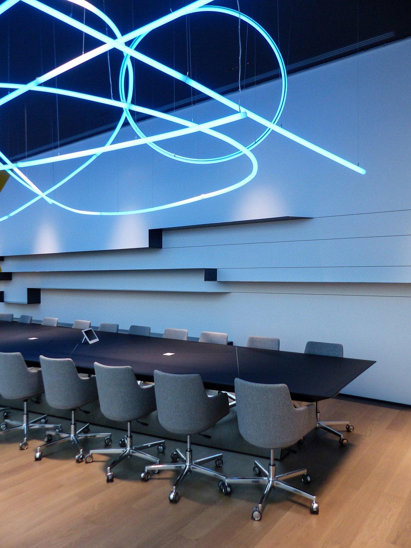 Dettaglio tavolo boardroom Daniele Nicoletti