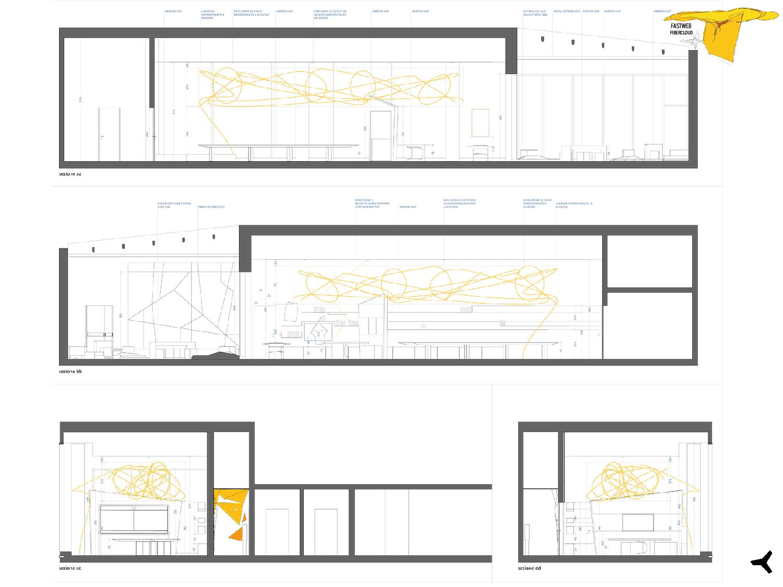 Elaborati di progetto esecutivo - Prospetti Boardroom Giuseppe Tortato Architetti}
